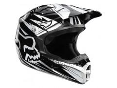 Мотошлем кроссовый FOX V1 Race ECE черный