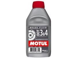 Тормозная жидкость синтетическая Motul DOT 3&4 0,5 л