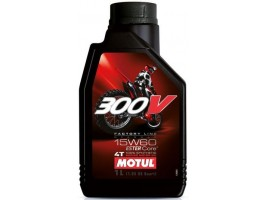 Масло моторное MOTUL 300V 4T  FACTORY LINE OFF ROAD 15W-60 1л.