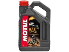 Масло моторное синтетическое для квадроциклов MOTUL ATV POWER 5W40 4л