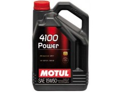 Масло моторное MOTUL 4100 Power 15W-50 1 л.