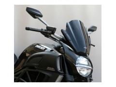 Стекло ветровое универсальное MRA Racing Naked Bike черное