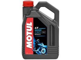 Масло моторное минеральное MOTUL 3000 4T 20W-50 4 л.