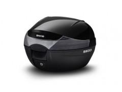 Панель мотокофра SHAD SH33 черный металлик