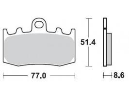 Тормозные колодки Braking для K1200/1300, R1100/1150/1200 синтетические