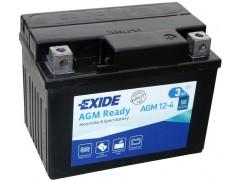 Аккумулятор EXIDE AGM12-4