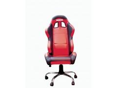 Кресло Honda красное с черными элементами