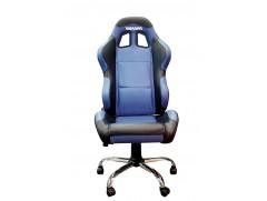 Кресло Yamaha синее с черными элементами