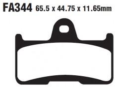 Тормозные колодки на квадроцикл CF MOTO EBC FA344TT