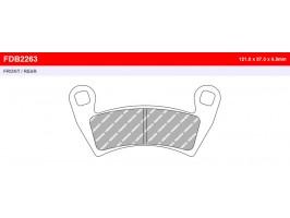 Тормозные колодки для квадроцикла Polaris Ranger/RZR