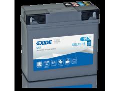 Аккумулятор EXIDE  GEL 12-19