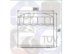 Фильтр масляный Filtrex OIF014 Suzuki.
