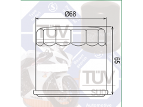 Фильтр масляный  на Suzuki Mann MW 65