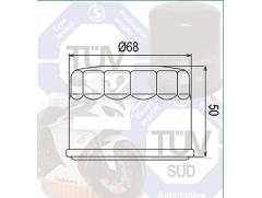 Фильтр масляный Filtrex OIF020 Yamaha.