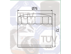 Фильтр масляный Mann MW713 Ducati