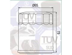 Фильтр масляный Filtrex OIF035 KTM.