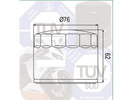 Фильтр масляный для BMW HIFLO HF160