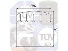 Фильтр масляный Filtrex OIF041 BMW.