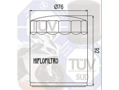 Фильтр масляный Filtrex OIF039 Harley Davidson, Buell. Хромированный.