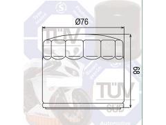 Фильтр масляный Filtrex OIF042 Harley Davidson.