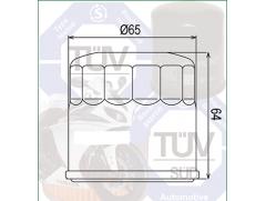 Фильтр масляный Champion COF104 аналог OIF024