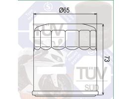 Фильтр масляный CHAMPION F304-F306