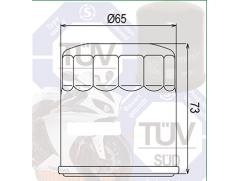 Фильтр масляный для квадроцикла POLARIS, YAMAHA
