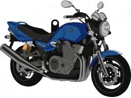 Брелок для ключей мотоцикл Yamaha XJR1300