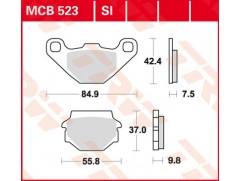 Тормозные колодки  TRW LUCAS MCB523