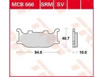 Тормозные колодки TRW LUCAS MCB666SV