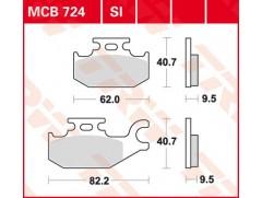 Тормозные колодки для квадроциклов Bombardier / Suzuki / Yamaha