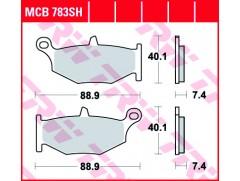 Тормозные колодки TRW LUCAS MCB783SH