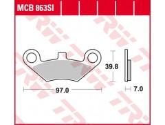 Тормозные колодки для квадроциклов CF MOTO