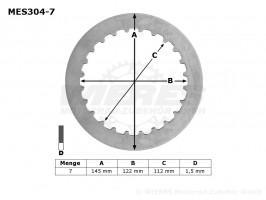 Диски сцепления металлические TRW MES304-7