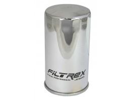 Фильтр масляный Filtrex OIF038 Harley Davidson. Хромированный.