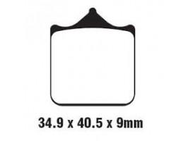 Тормозные колодки на BMW S1000R/RR