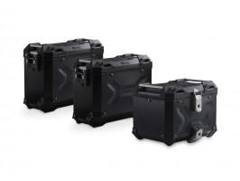 Комплект из трех кофров Adventure черных и креплений для Honda CRF1000L Africa Twin (18-)