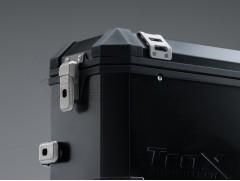 Алюминиевый мотокофр TraX черный 37л (правый)