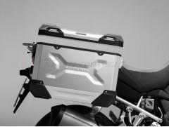 Алюминиевый мотокофр TraX ADVENTUREчерный 45л (правый)