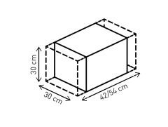 Мотосумка на багажник SW-MOTECH Rackpack, 38-45 л