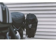Боковая мотосумка LEGEND Black Edition LC1 9.8л с быстросъемным креплением правая