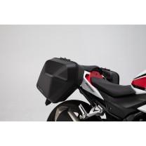БОКОВЫЕ КОФРЫ URBAN ABS 2Х16Л С КРЕПЛЕНИЯМИ НА Honda CB500F (16-18) / CBR500R (16-18)