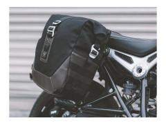 Боковые мотосумки LEGEND Black Edition с креплениями для BMW R nineT (14-)