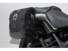 Мотосумки боковые Legend Gear Black Edition для Kawasaki Vulcan S (16-)
