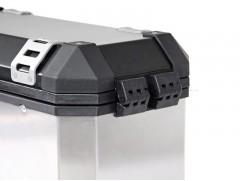 Алюминиевый мотокофр TraX серебристый 37л (правый)