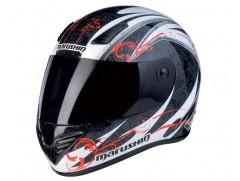Шлем MARUSHIN 999 RS ET Carat, чернo-бело-красный, p.L