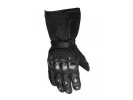 Влагозащищенные перчатки кожа-текстиль р. L