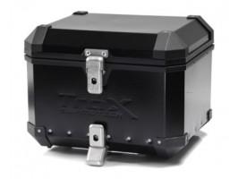 Алюминиевый мотокофр центральный TraX EVO 38л черный