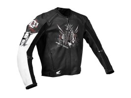 Мотокуртка Honda CBR - Project H, р. M, кожа, чёрный
