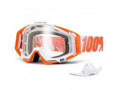 Мотоочки 100% RACECRAFT Goggle Mandarina Clear Lens